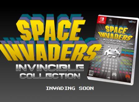 Space Invaders: Invincible Collection, raccolta in arrivo il 26 marzo 2020 su Nintendo Switch