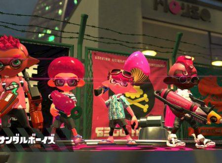 Splatoon 2: il titolo ora aggiornato alla versione 5.0.0 sui Nintendo Switch europei