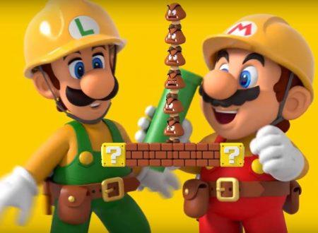 Super Mario Maker 2: alzato il cap dei livelli costruibili del titolo da 32 a 64