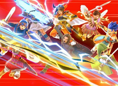 Super Smash Bros. Ultimate: ora disponibili gli eroi di Dragon Quest assieme alla versione 4.0.0