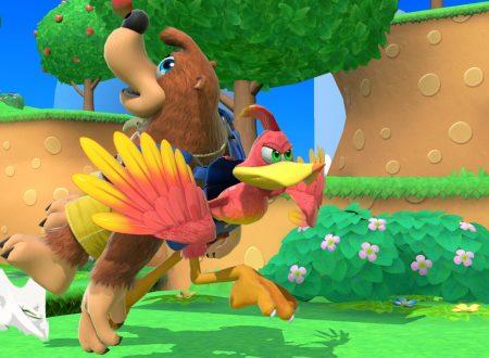Super Smash Bros. Ultimate: pubblicati nuovi screenshots sugli eroi di Dragon Quest e Banjo-Kazooie