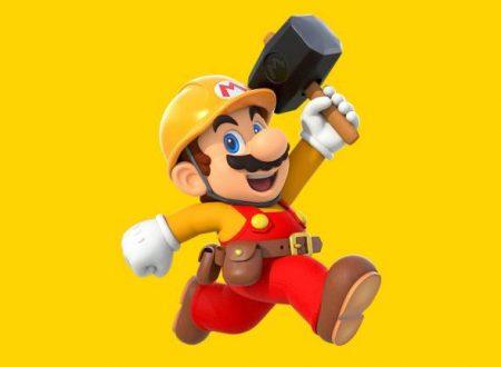 Svelata una manutenzione imminente per i servizi e il gioco online di Super Mario Maker 2