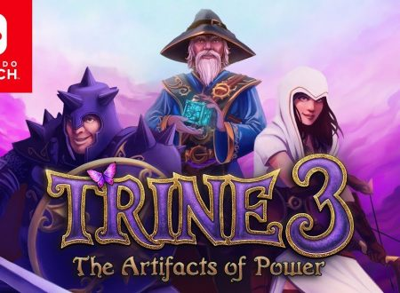 Trine 3: The Artifacts of Power, il titolo è in arrivo il 29 luglio su Nintendo Switch
