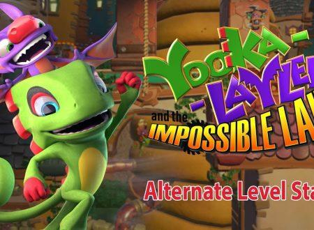 Yooka-Laylee and the Impossible Lair, pubblicato un nuovo trailer dedicato al titolo