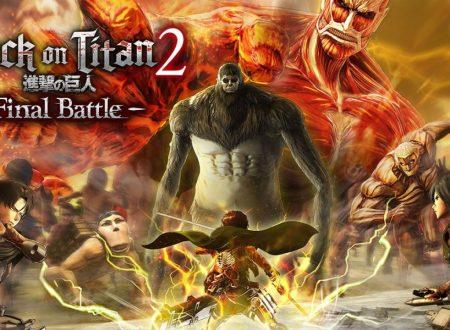 Attack on Titan 2: Final Battle, il titolo aggiornato alla versione 1.0.12 su Nintendo Switch