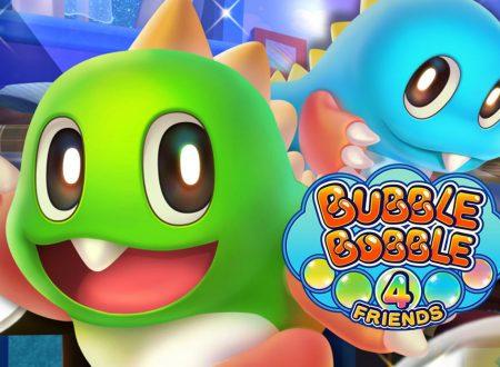 Bubble Bobble 4 Friends: il titolo è in arrivo il 19 novembre sui Nintendo Switch europei