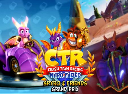 Crash Team Racing Nitro-Fueled: Spyro è ora disponibile nel nuovo Grand Prix del titolo