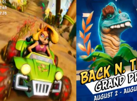Crash Team Racing Nitro-Fueled: uno sguardo in video al Grand Prix: Back N. Time