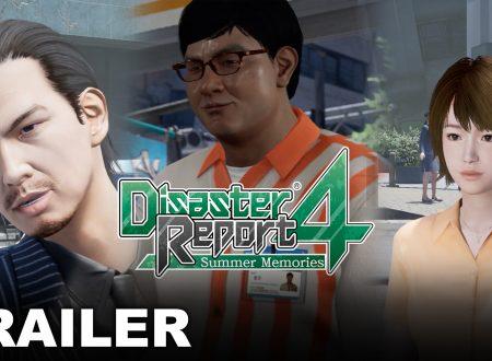 Disaster Report 4: Summer Memories, pubblicato un nuovo trailer sui personaggi