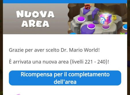 Dr. Mario World: una nuova area è ora disponibile nel titolo su Android e iOS