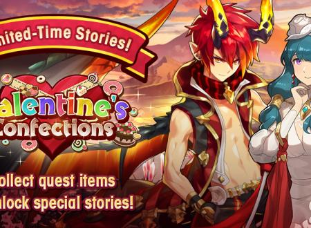 Dragalia Lost: ora disponibile il Valentine's Confections Story Event