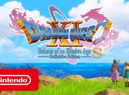 Dragon Quest XI S: Echi di un'era perduta, pubblicato un nuovo trailer sul mondo di Erdrea