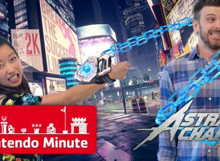 Nintendo Minute: mostrato un video gameplay di Astral Chain con Kit & Krysta
