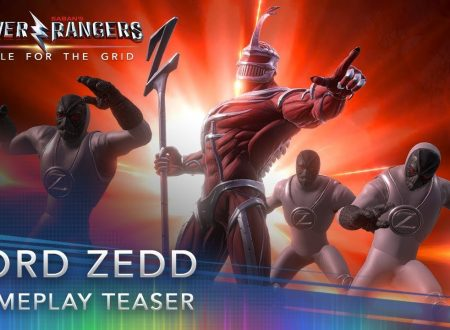 Power Rangers: Battle For The Grid, pubblicato un teaser gameplay su Lord Zedd