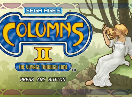SEGA Ages Columns II: The Voyage: uno sguardo in video al titolo dai Nintendo Switch giapponesi