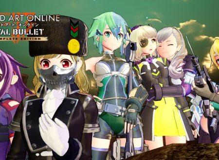 Sword Art Online: Fatal Bullet Complete Edition, pubblicato il trailer di lancio del titolo