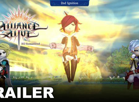 The Alliance Alive HD Remastered: pubblicato un nuovo gameplay trailer sul titolo