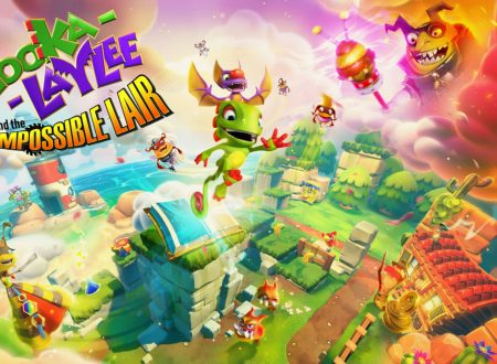 Yooka-Laylee and the Impossible Lair, il titolo è in arrivo l'8 ottobre su Nintendo Switch