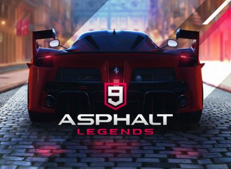 Asphalt 9: Legends, uno sguardo in video al titolo dai Nintendo Switch europei