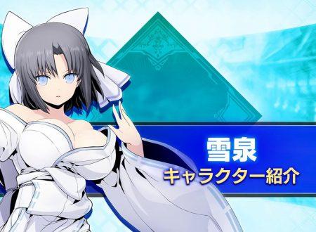 BlazBlue: Cross Tag Battle, pubblicato un trailer su Yumi della serie Senran Kagura