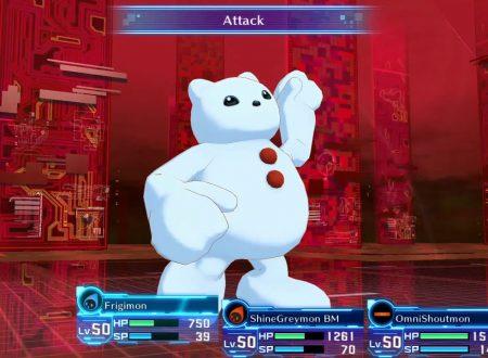 Digimon Story: Cyber Sleuth Complete Edition, pubblicato il trailer dedicato alle battaglie