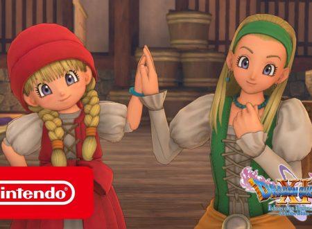 Dragon Quest XI S: Echi di un'era perduta, pubblicato un trailer dedicato a Veronica e Serena