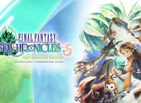 Final Fantasy Crystal Chronicles Remastered Edition è in arrivo il 23 gennaio 2020 su Nintendo Switch