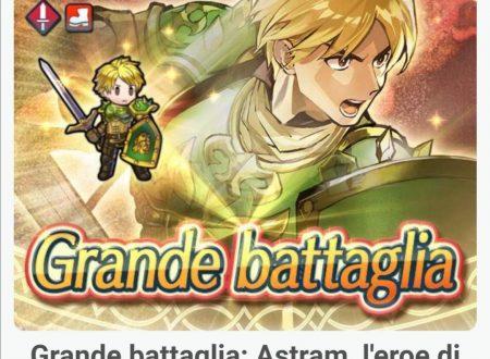 Fire Emblem Heroes: ora disponibile la grande battaglia: Astram, l'eroe di Midia