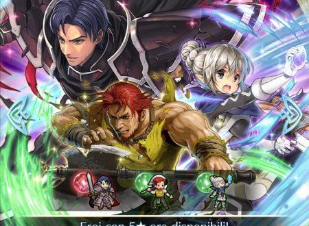 Fire Emblem Heroes: ora disponibile la preferenza evocazione: eroi con Posa fiera