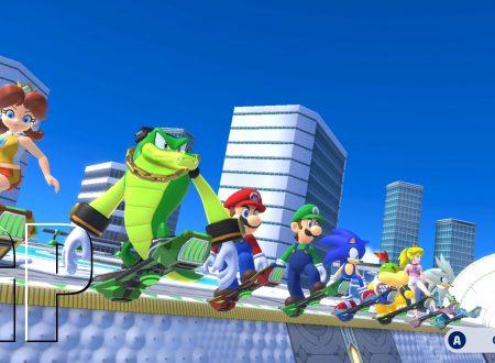 Mario & Sonic ai Giochi Olimpici di Tokyo 2020: pubblicato un nuovo trailer e screenshots