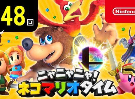 Nyannyan Neko Mario Time: pubblicato l'episodio 148 dello show felino con Mario e Peach