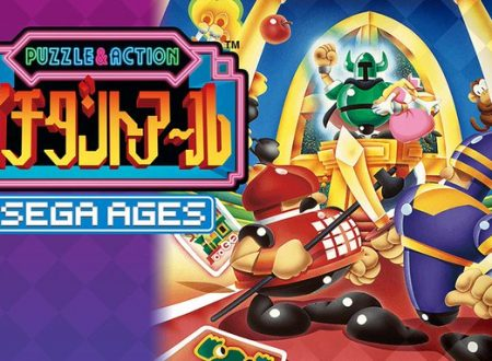 SEGA Ages Columns II: The Voyage e Puzzle & Action: Ichidant-R in arrivo il 17 ottobre sui Nintendo Switch europei