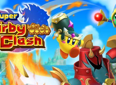 Super Kirby Clash: il titolo aggiornato alla versione 1.0.1 sui Nintendo Switch europei