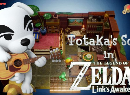 The Legend of Zelda: Link's Awakening, l'Easter Egg della Totaka's Song di K.K Slider ritorna anche su Nintendo Switch