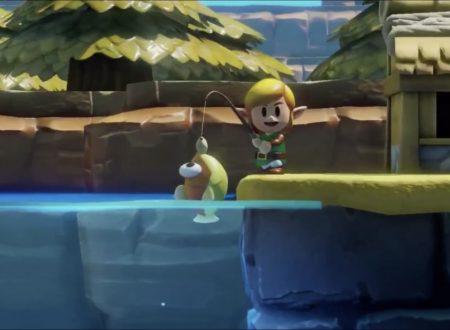 The Legend of Zelda: Link's Awakening, un nuovo video ci mostra i dungeon e l'utilizzo degli amiibo
