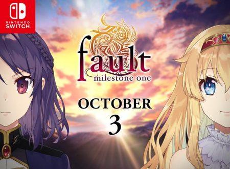 fault – milestone one: il titolo è in arrivo il 3 ottobre sui Nintendo Switch europei