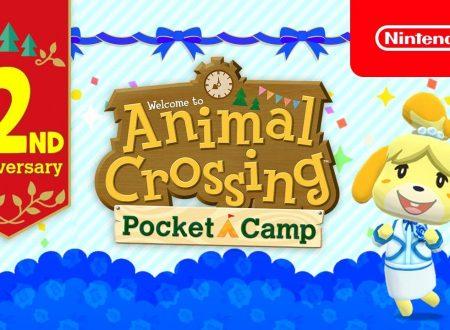 Animal Crossing: Pocket Camp, pubblicato un trailer dedicato al secondo anniversario del titolo mobile