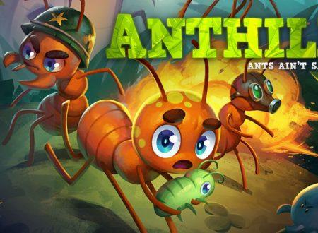 Anthill: uno sguardo in video al titolo di Image & Form dai Nintendo Switch europei