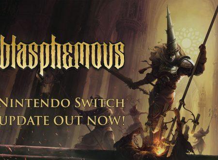 Blasphemous: un aggiornamento aggiunge il russo e portoghese su Nintendo Switch