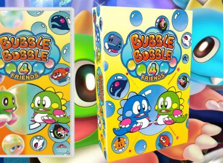 Bubble Bobble 4 Friends: annunciata la versione retail e la Collector's Edition per Nintendo Switch