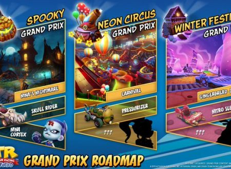 Crash Team Racing Nitro-Fueled: svelati i prossimi tre Grand Prix con Nina Cortex ed altri personaggi