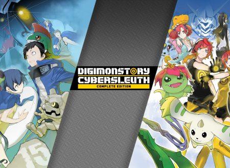 Digimon Story: Cyber Sleuth Complete Edition, pubblicato il trailer di lancio del titolo