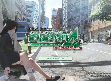 Disaster Report 4: Summer Memories, uno sguardo in video alla demo dai Nintendo Switch giapponesi