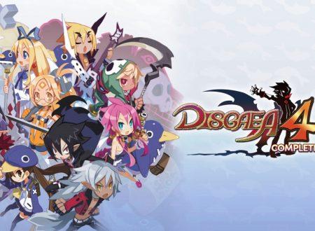 Disgaea 4 Complete+: un aggiornamento e' ora disponibile su Nintendo Switch