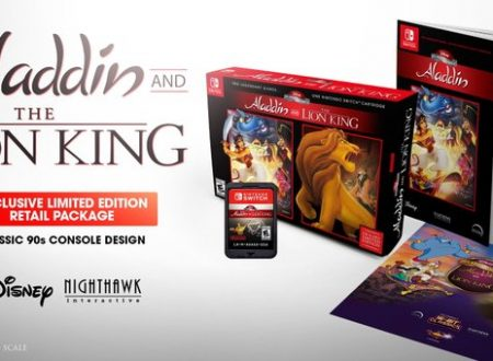 Disney Classic Games: Aladdin and The Lion King: annunciato l'arrivo di tre Special Edition su Nintendo Switch