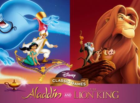 Disney Classic Games: Aladdin and The Lion King: pubblicato un video gameplay sulla raccolta in arrivo su Nintendo Switch