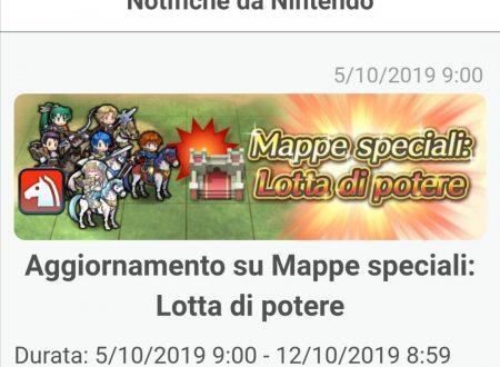 Fire Emblem Heroes: nuovo aggiornamento sulle Mappe speciali: Lotta di Potere
