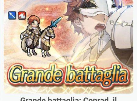 Fire Emblem Heroes: ora disponibile la grande battaglia: Conrad, il cavaliere celato