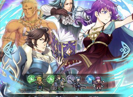 Fire Emblem Heroes: ritorno per la preferenza evocazione: nuovo potere, con Lute, Virion, Frederick e Tronk