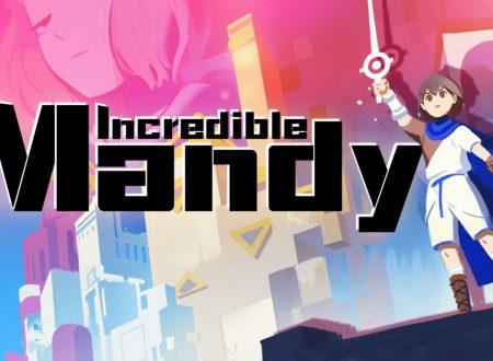 Incredible Mandy: il titolo è in arrivo il 7 novembre sull'eShop di Nintendo Switch